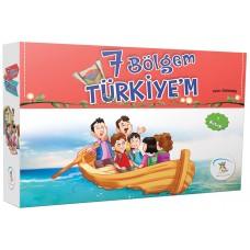 7 Bölgem Türkiye'm (7 Kitap)